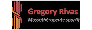 Gregory Rivas – Massothérapeute sportif Logo
